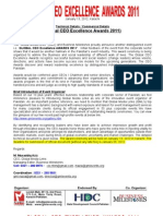 (Detail Technical & Commercial Document) Global Ceo Excellence Awards 2011 (1)