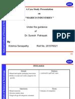 SWOT Analysis of Marico Industries Ltd.