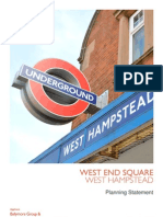 West End Square Plan (annotated)