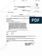 2012-01-11 Farrar Subpoena to Obama