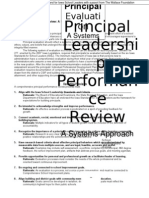 Aarsh Colleage Principal Evaluation