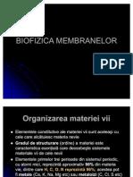 BIOFIZICA_MEMBRANELOR