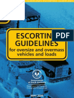 Escort Guidelines