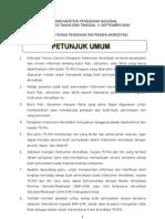 Lampiran II-Permendiknas No. 52 Tahun 2009-Petunjuk Teknis Pengisian Instrumen Akreditasi TK-RA