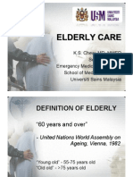 Elderly Care and Abuse