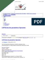 Samsung Galaxy S • Afficher le sujet - [APN]Liste des paramètres Operateur