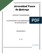 La Sociologia y Sus Principales Metodologias