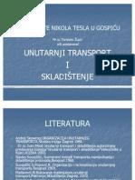 VELEUČLIŠTE NIKOLA TESLA U GOSPIĆU.ppt unutarnji transport i skladištenje