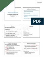 Mourinho HSP-HFA - Lecture Slides