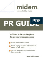 Midem 2012 (Cannes, 28-31 Jan) - Pr Guide