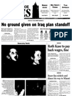 No groung given on Iraq plan standoff