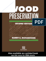 Wood Preservation, Second Edition - Barry a.richardson