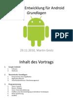 Software-Entwicklung für Android