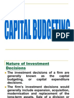 Capital Budegiting
