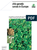 'Arachis' Genetic Resources in Europe