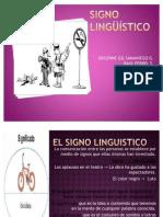 Signos Linguisticos Oral y Escrita