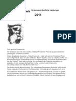 Laudatio Freidenker Preis 2011