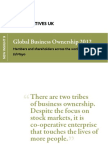 Co-operators outweigh shareholders 3-to-1 (Global Business Ownership 2012)