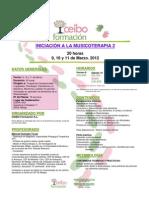 Dossier Informativo Musicoterapia 2