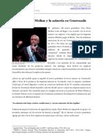 COPAE Otto Perez Molina y minería