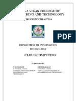 Paper Presentation-cloud Computing