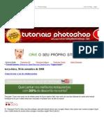 Tutoriais Photoshop - Como Trocar Cor de Cabelos - Ano 2008