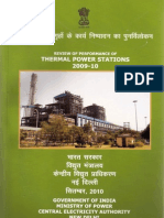 Indian Power Plants Performance Analysis