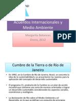 Acuerdos Internacionales y Medio Ambiente