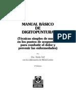 Manual Digitopuntura