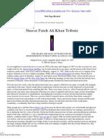 Nusrat Fateh Ali Khan Tribute