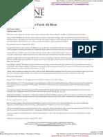 Remembering Nusrat Fateh Ali Khan – The Express Tribune