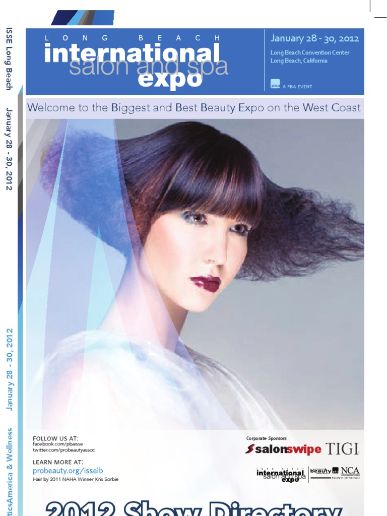 Isse lb 2012 onsite brochure hairdresser hairstyle fandeluxe Image collections