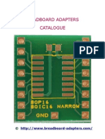 Breadboard Adapters Catalog
