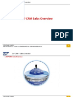 SAP/CRM SALES OVERVIEW