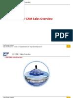 SAP/CRM SALES OVERVIEW