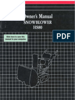 HS80 Owners Manual
