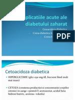 Complicatiile Acute Ale Diabetului Zaharat Corectat