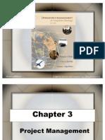 Chap 03 - Project Management
