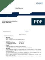 5635_08 Practice Paper 2H - Set a Mark Scheme