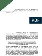 Obrigação de Fazer_Internação_tratamento a toxicomano - Inicial
