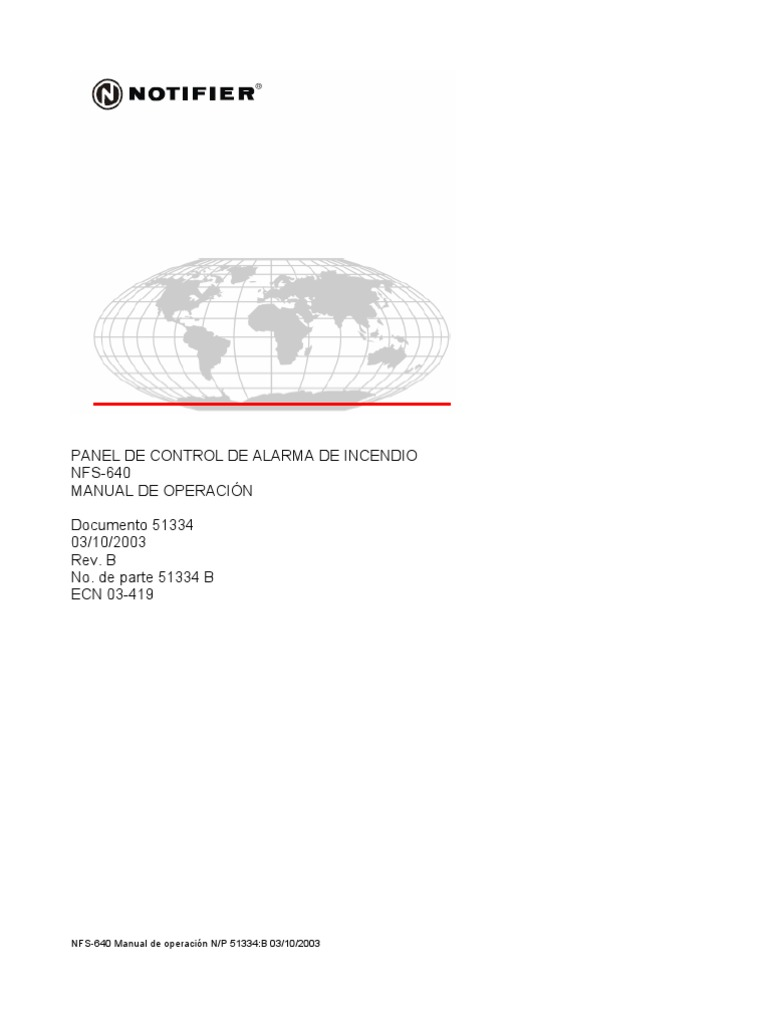 NFS-640 Manual de Operacion