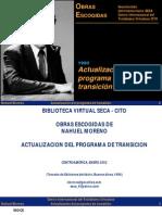 Actualización del programa de transición