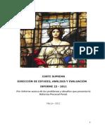 Informe Unidad de Estudios Corte Suprema 23-2011
