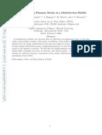 S.N. Klimin er al- Coupled Ripplon-Plasmon Modes in a Multielectron Bubble