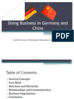 Doing Business in Germany and China-Final