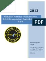 Manual de Normas y Procedimientos RER