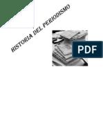 Historia Del Periodismo