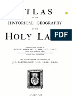 Holy Land Historical.geography Smith