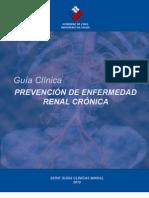 Guía prevención ERC