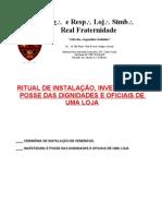 RITUAL DE INSTALAÇÃO1